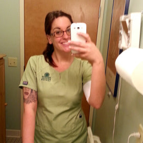 New Jersey Nurse Hides Tattoos With Ink Armor