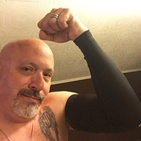 Pennsylvania Ink Armor Fan Rocking Black Arm Sleeve