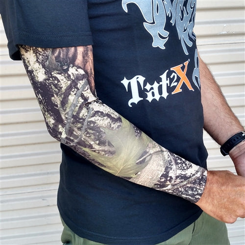 "<font color=""red""><b>BRAND NEW COLOR!</b></font> Ink Armor Tattoo Cover Up Sleeve - Full Arm (True Timber)"
