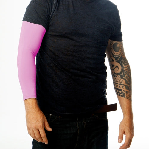 Ink Armor Tattoo Cover Up Sleeve - Full Arm (Pink)