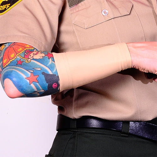 Ink Armor Tattoo Cover Up Sleeve - Forearm 6 in. (Cappuccino)