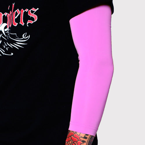 Ink Armor Tattoo Cover Up Sleeve - 3/4 Arm (Pink)