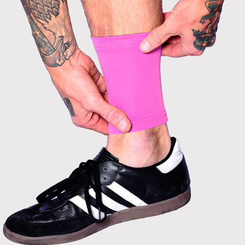 Ink Armor Tattoo Cover Up Sleeve - Ankle 6 in. (Pink)