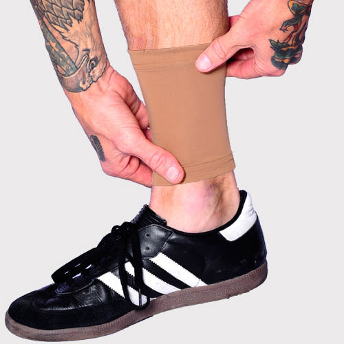 Ink Armor Tattoo Cover Up Sleeve - Ankle 6 in. (Suntan)