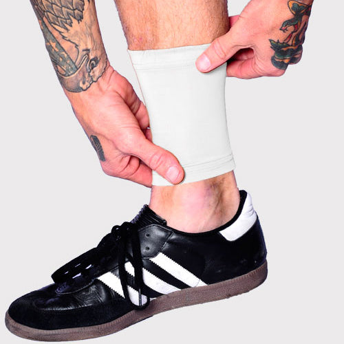Ink Armor Tattoo Cover Up Sleeve - Ankle 6 in. (White)