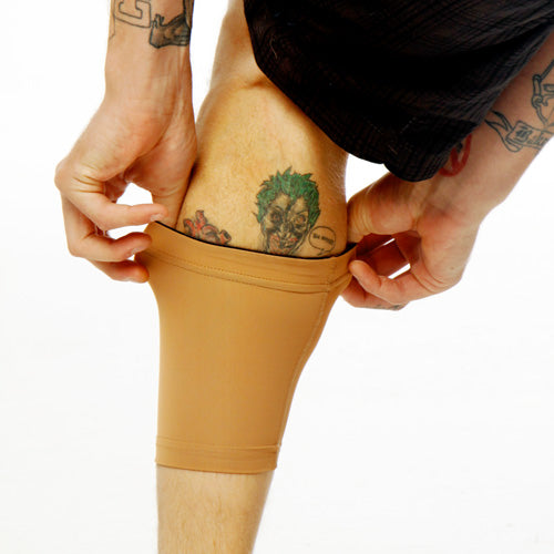 calf cover to hide tattoos