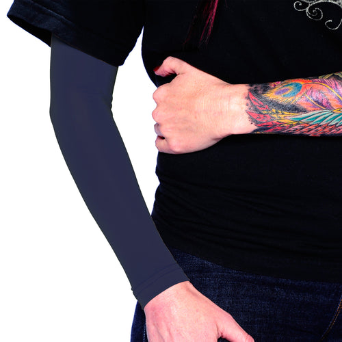 Ink Armor Tattoo Cover Up Sleeve - Full Arm (Dark Navy)