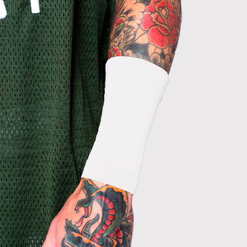White Six Inch Forearm Tattoo Covers For Work