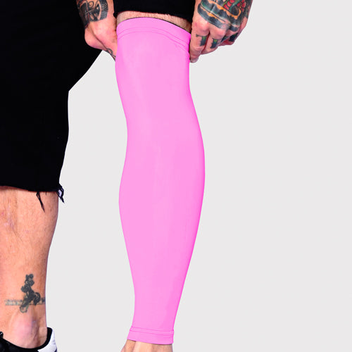 Ink Armor Tattoo Cover Up Sleeve - Full Leg (Pink)