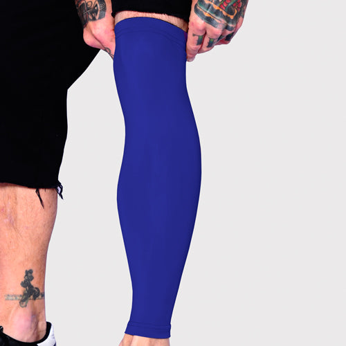 Ink Armor Tattoo Cover Up Sleeve - Full Leg (Royal Blue)