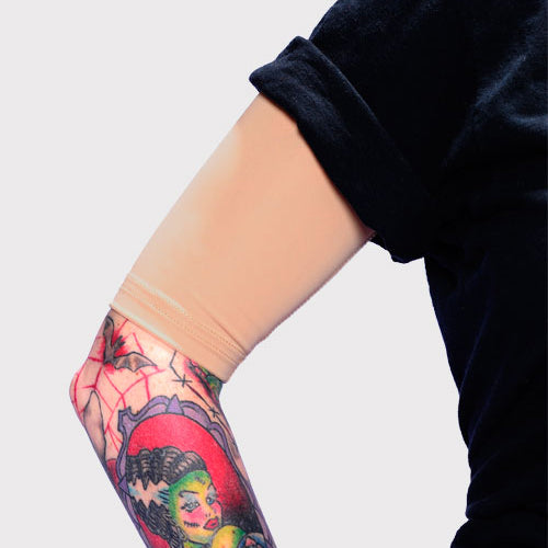 Ink Armor Tattoo Cover Up Sleeve - Half Arm (Light)