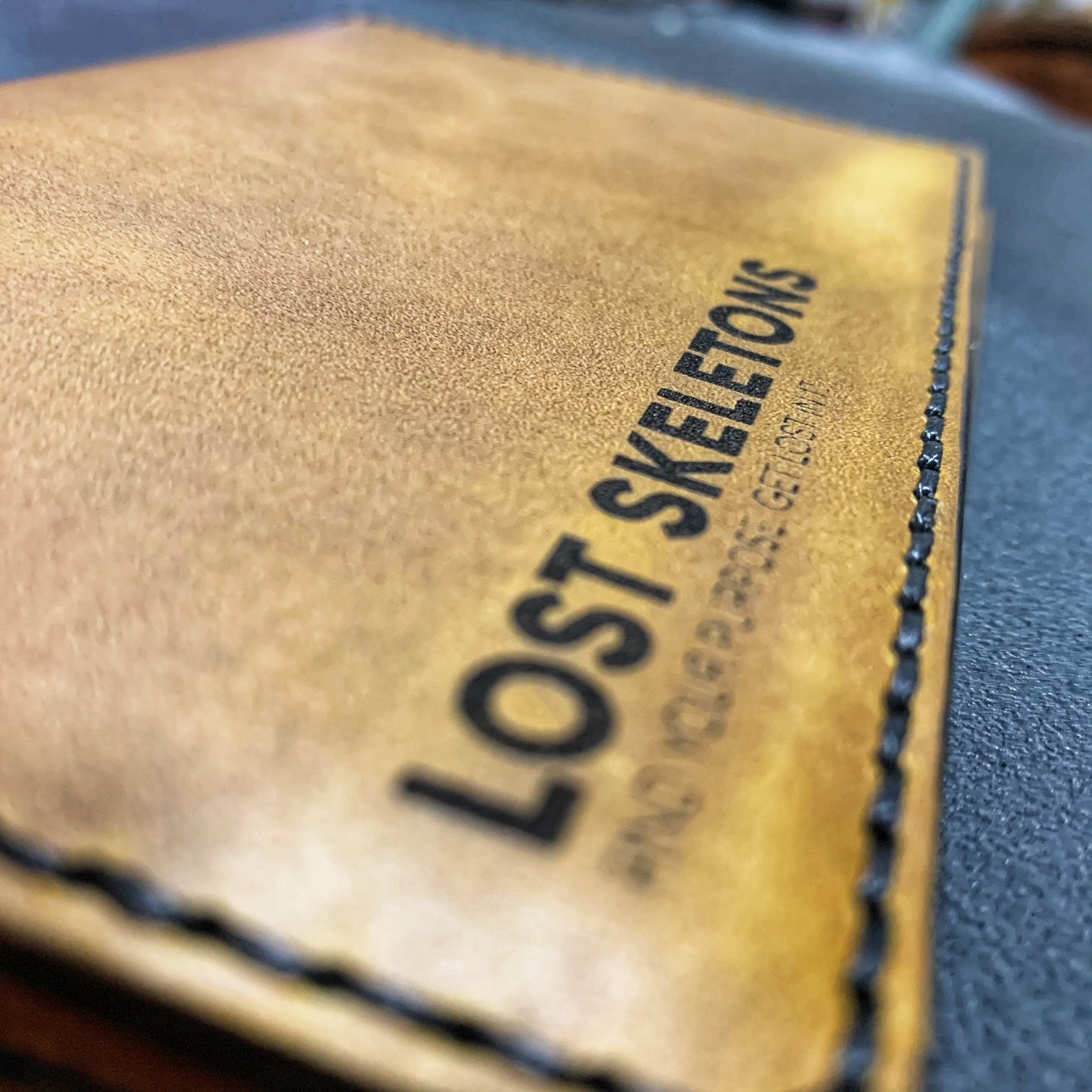 LS Sap Leather Field Notes Journal Cover