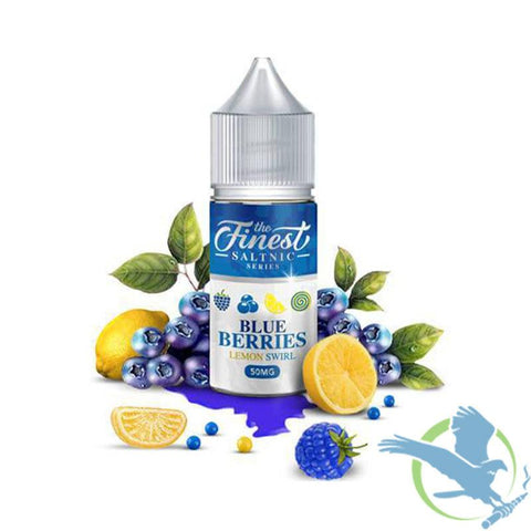 Finest Blue Berry Lemon Swirl Nic Salts