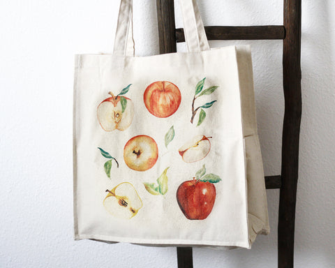 Apple Tote Bag