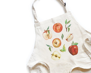 Apple Apron - Honey Brush Design