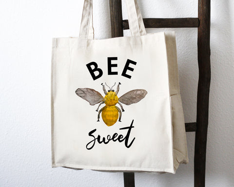 Bee Sweet Tote Bag