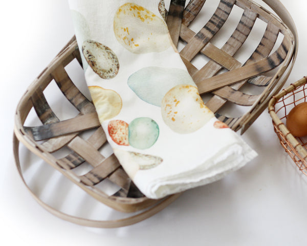 Egg Flour Sack Tea Towel