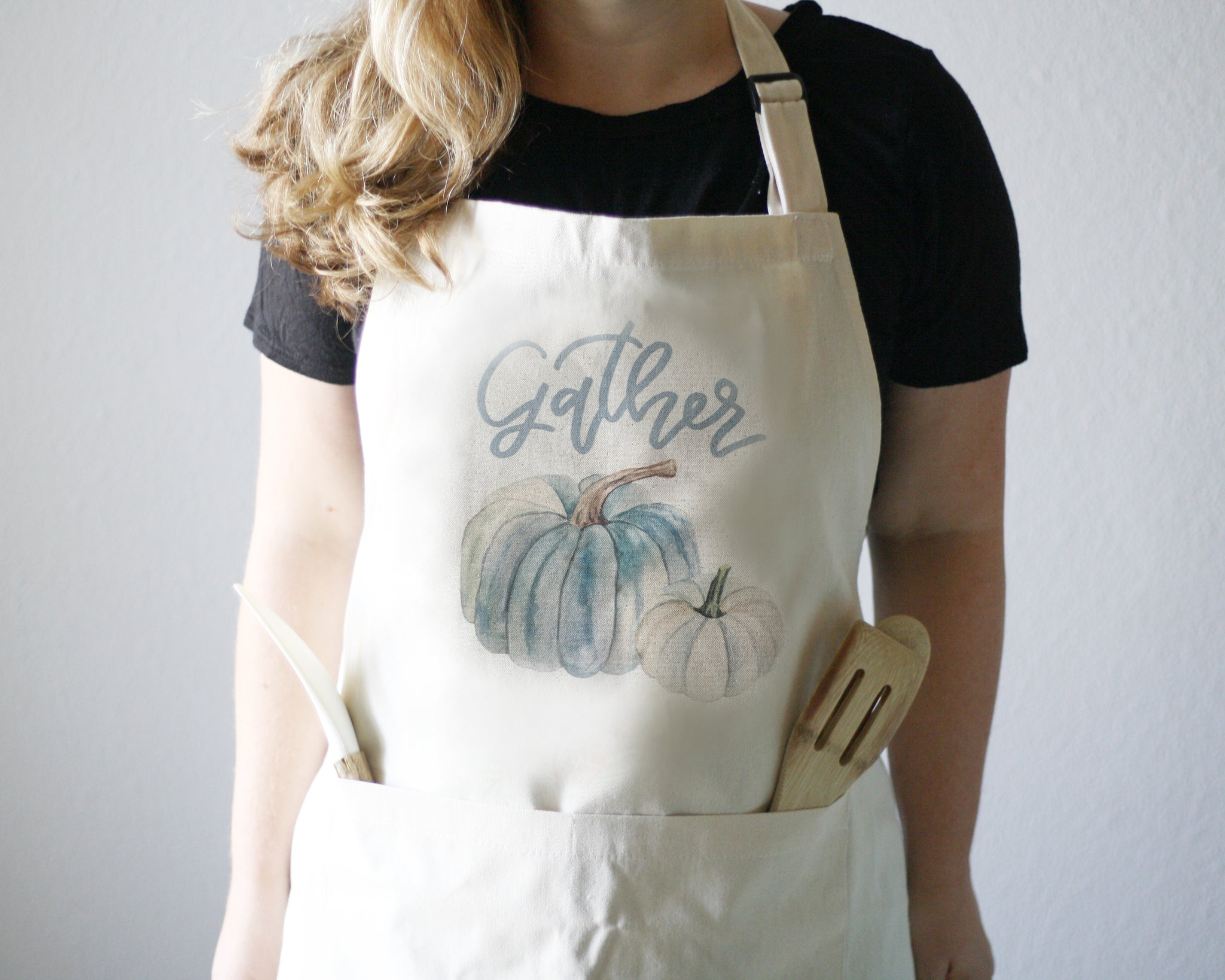Gather Apron - Honey Brush Design