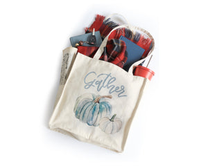 Gather Tote Bag - Honey Brush Design