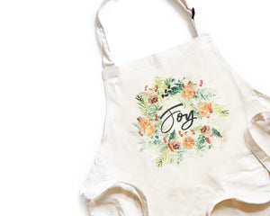 Joy Apron - Honey Brush Design