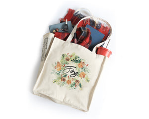 Joy Tote Bag - Honey Brush Design