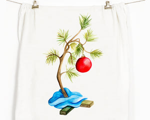 Little Tree Flour Sack Tea Towel