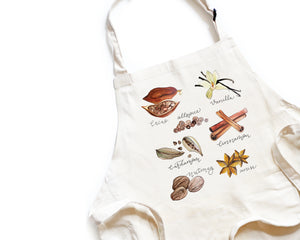 Spices Apron - Honey Brush Design