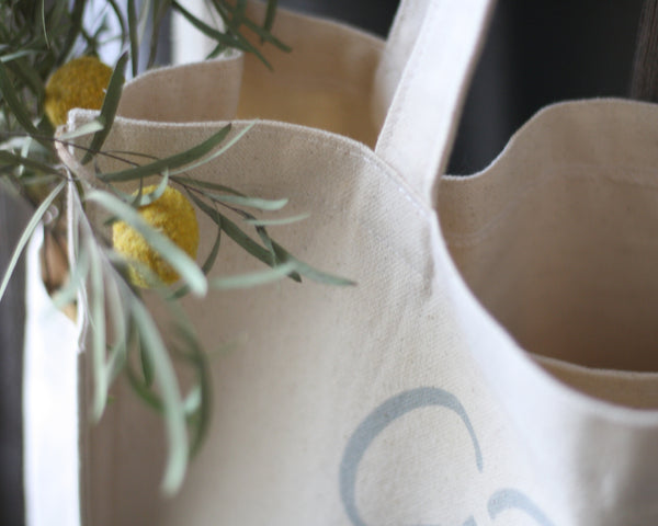 Farm Fresh Tote Bag - Honey Brush Design