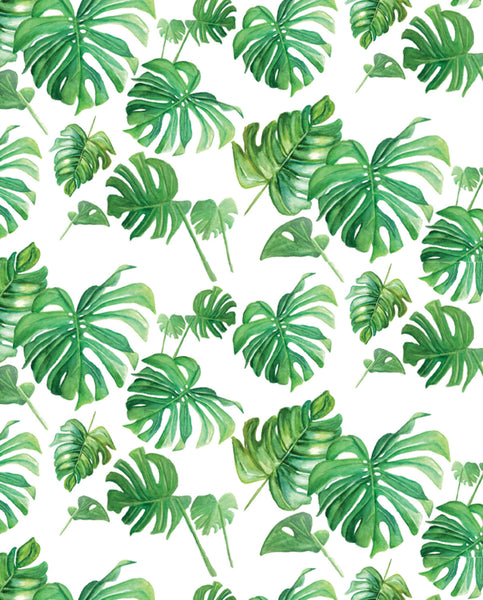 'Tropical Leaf Pattern' Printable