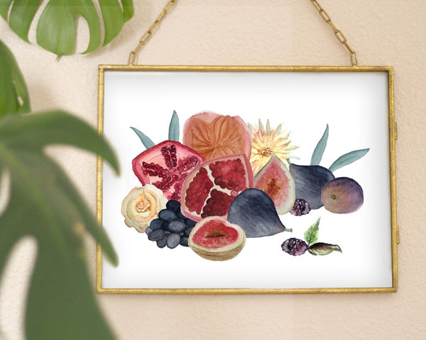 'Fall Fruits' Printable - Honey Brush Design