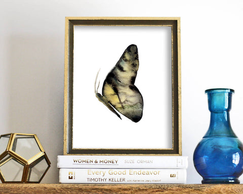 'Butterfly' Printable - Honey Brush Design