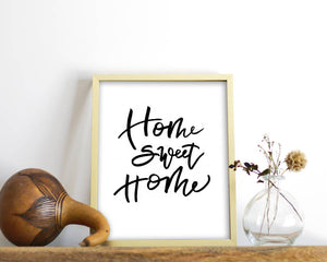 image relating to Home Sweet Home Printable identify Household Cute Residence Printable