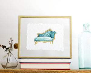 'Fainting Chair' Print