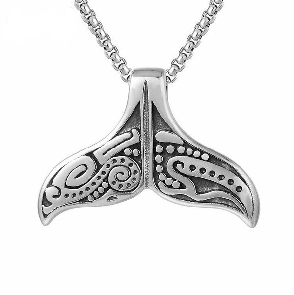 Amulet Whale Tail Necklace