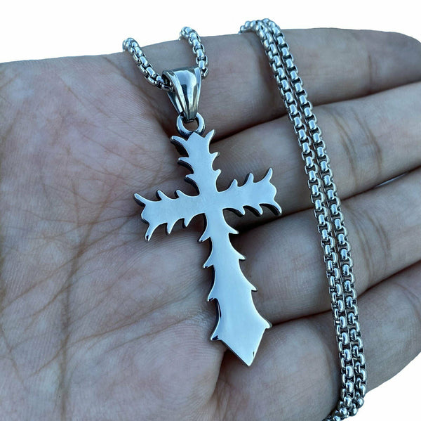 Cross Pendant Necklace For Men