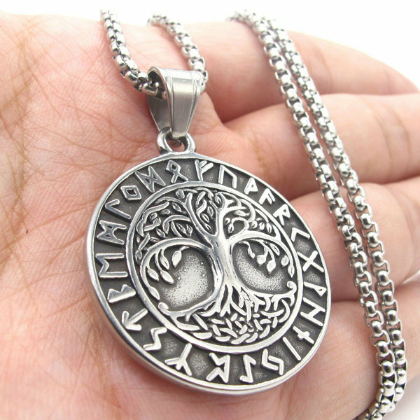 Rune Tree Of Life Pendant