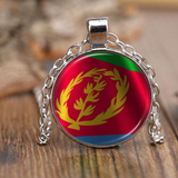 Eritrean Flag Necklace
