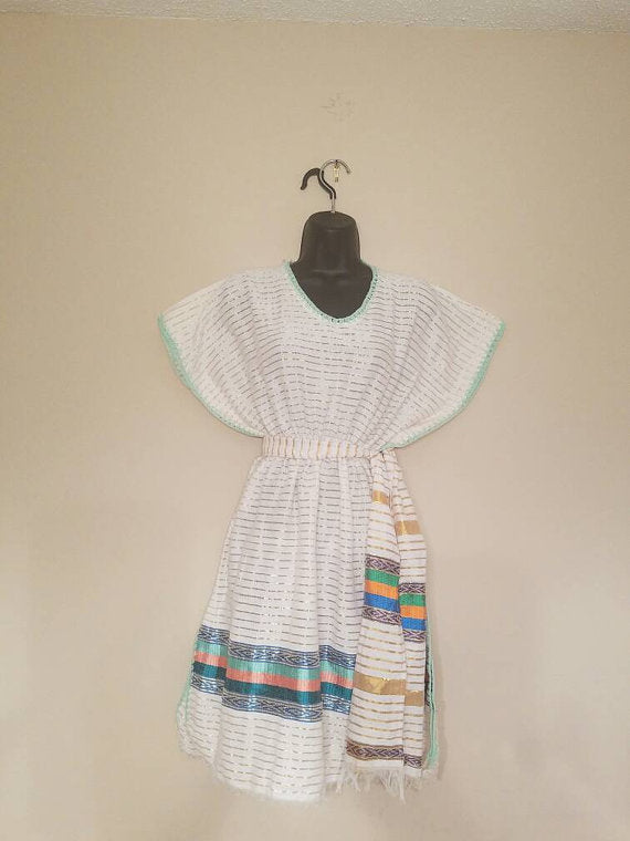 Habesha Dress, Ethiopian / Eritrean Dress, Zurya