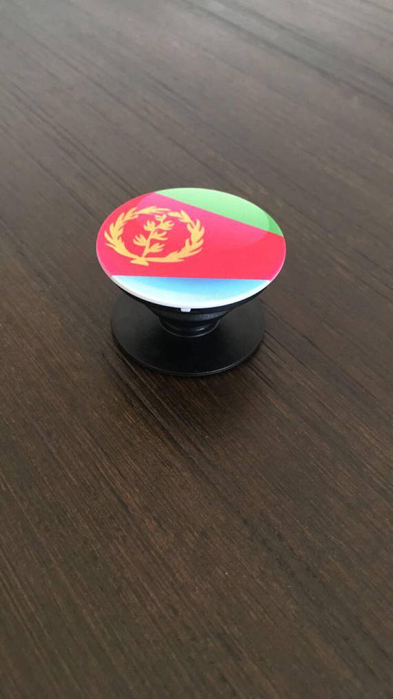 Eritrean Phone Mount ( Eritrean pop socket )