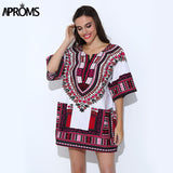 Traditional African Clothing for Womens Shirt  Mens Classic Bazin Riche Dashiki Tops