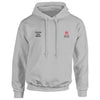 City Law embroidered Hooded top