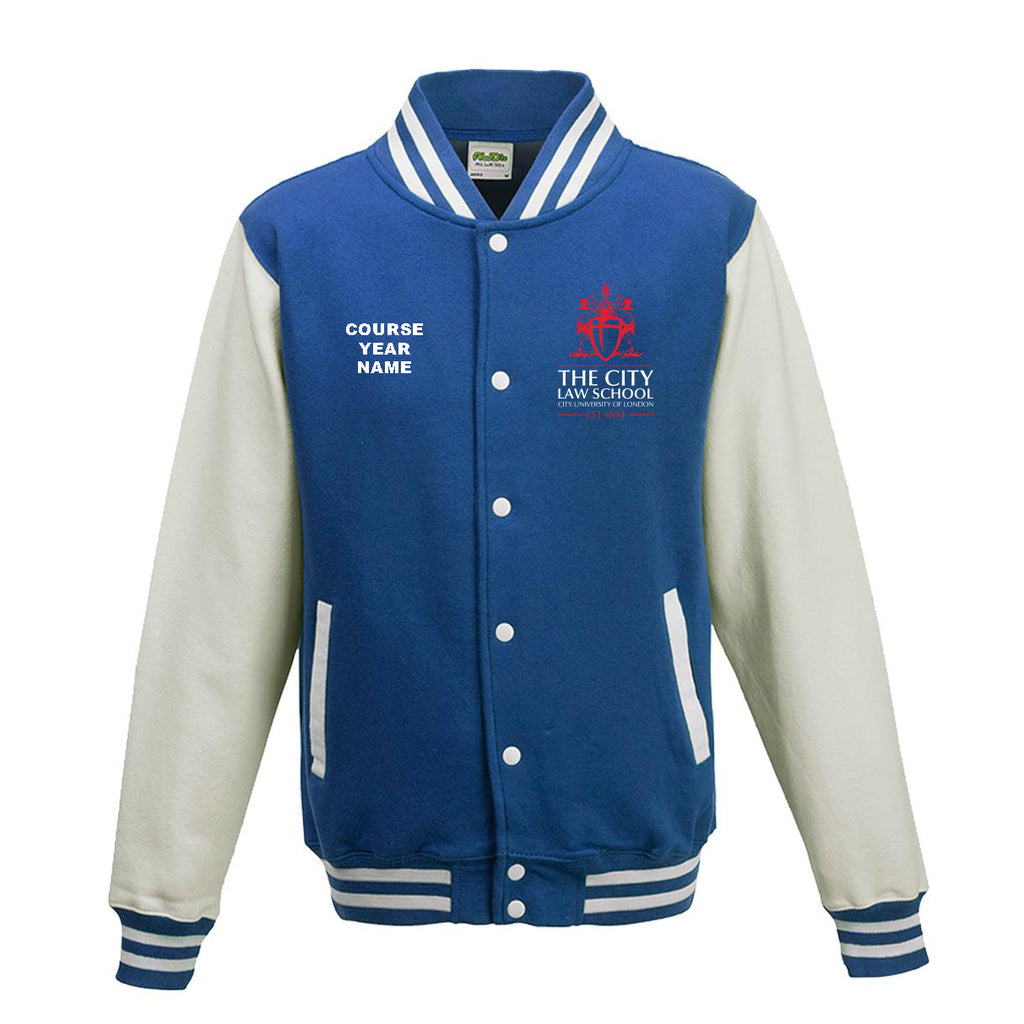 City Law Varsity jacket