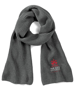 City Law Knitted Scarf
