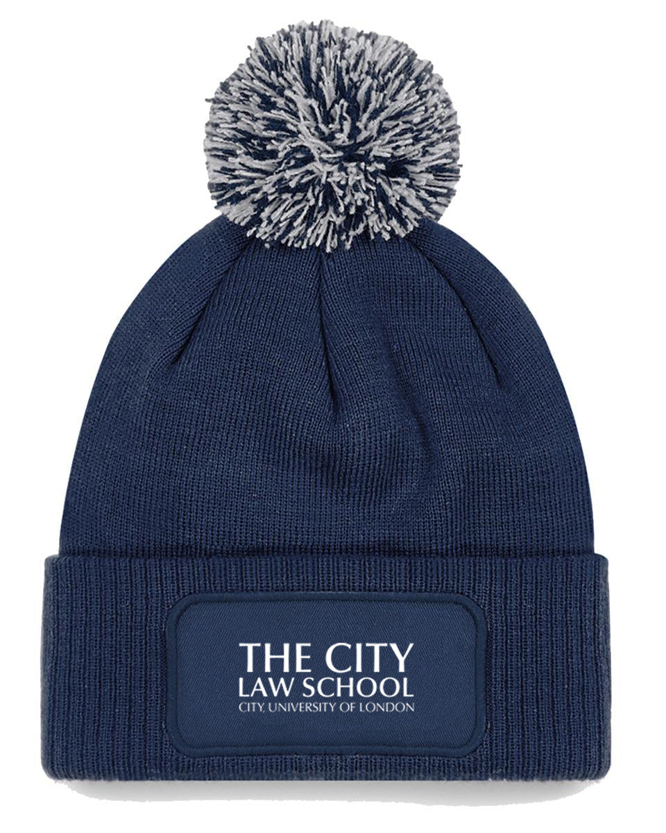 City Law Label Beanie hat