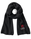 City Uni Knitted Scarf