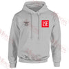 LSE Media embroidered Hooded top