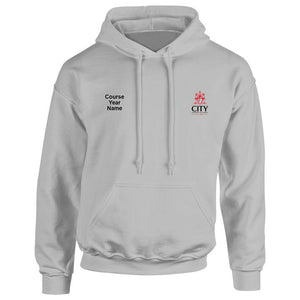 City Diagnostic Radiography embroidered Hooded top
