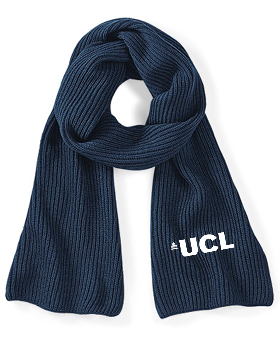UCL Knitted Scarf