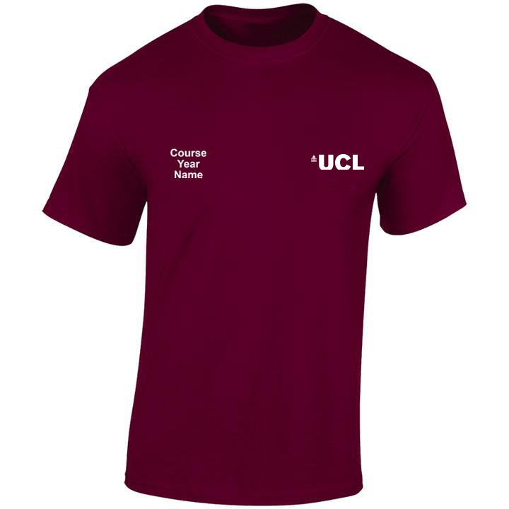 UCL embroidered T-shirts