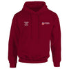 UOL embroidered Hooded top